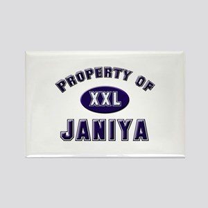 Property of janiya Rectangle Magnet