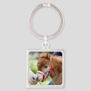 Orphaned Foal - Joy Square Keychain