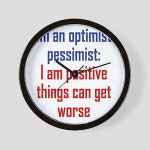 optimistic-pessimist1 Wall Clock