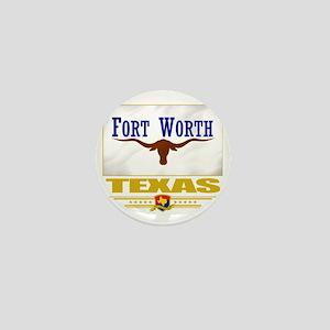 Fort Worth (Flag 10) Mini Button