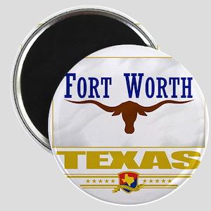 Fort Worth (Flag 10) Magnet