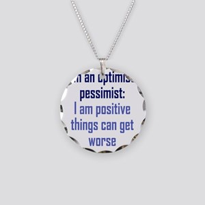 optimistic-pessimist2 Necklace Circle Charm