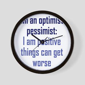 optimistic-pessimist2 Wall Clock