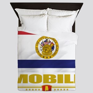 Mobile (Flag 10) Queen Duvet