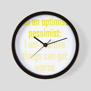 optimistic-pessimist3 Wall Clock