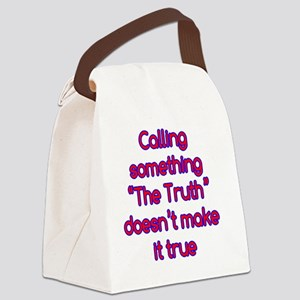 the-truth_rnd2 Canvas Lunch Bag