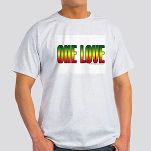 One Love Ash Grey T-Shirt