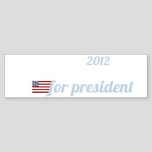 mitch daniels for president_dark Sticker (Bumper)