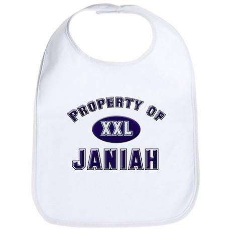 Property of janiah Bib