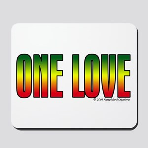 One Love Mousepad