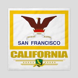 San Francisco (Flag 10) Queen Duvet
