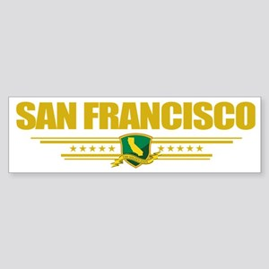 San Francisco (Flag 10) pocket Sticker (Bumper)