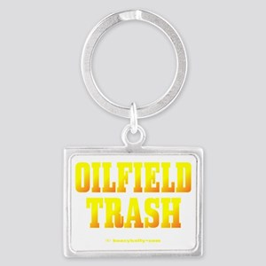 Oilfield Trashbv A4 using Landscape Keychain