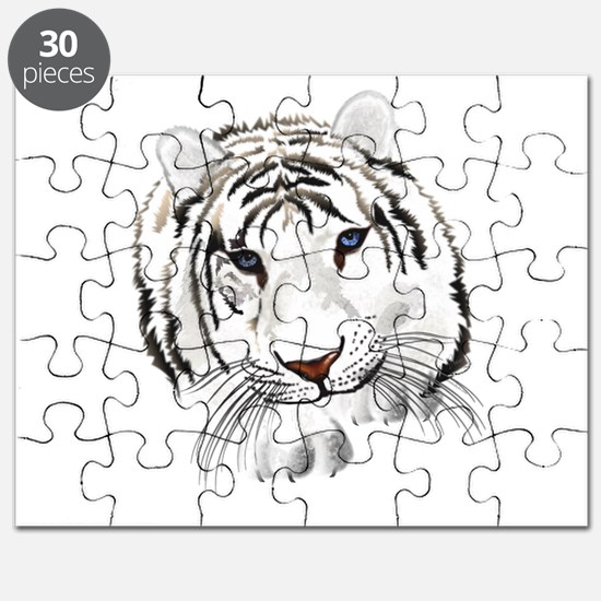 White Bengal Tiger Puzzle