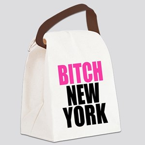 BNYLOGOBLACK Canvas Lunch Bag