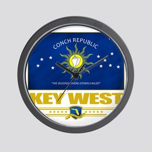 Key West (Flag 10) Wall Clock