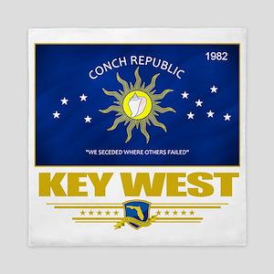 Key West (Flag 10) Queen Duvet