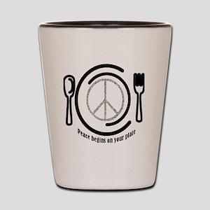 peaceplate Shot Glass