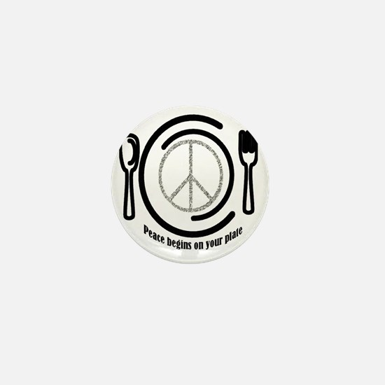 peaceplate Mini Button