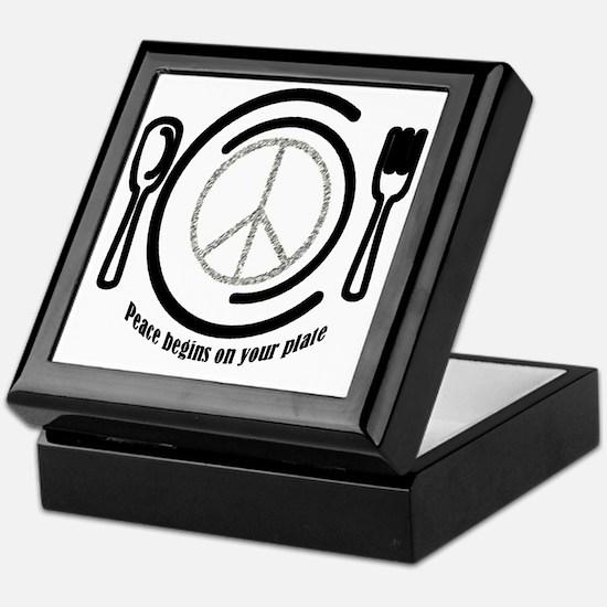 peaceplate Keepsake Box