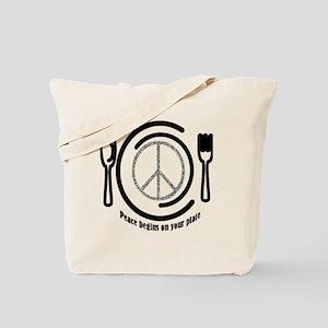 peaceplate Tote Bag
