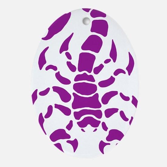 ScorpioPs Oval Ornament