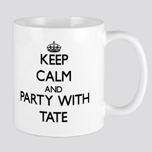 Keep Calm and Party with Tate Mugs