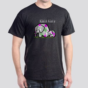 Cute Elephants (1) Dark T-Shirt