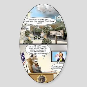 SanOnfreNuclear Sticker (Oval)