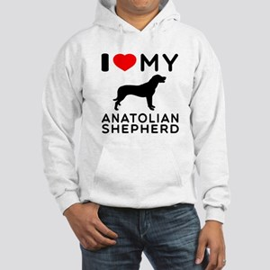I love My Wire Fox Terrier Hooded Sweatshirt
