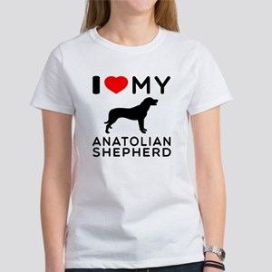 I love My Wire Fox Terrier Women's T-Shirt