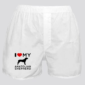 I love My Wire Fox Terrier Boxer Shorts
