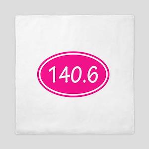 Pink 140.6 Oval Queen Duvet