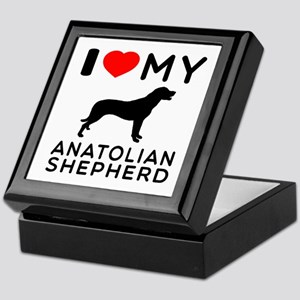 I love My Wire Fox Terrier Keepsake Box