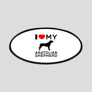 I love My Wire Fox Terrier Patches