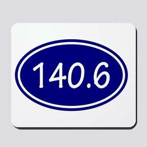 Blue 140.6 Oval Mousepad