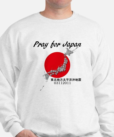 prayforjapan Sweatshirt
