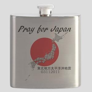 prayforjapan Flask