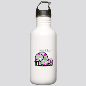 Cute Elephants (1) Stainless Water Bottle 1.0L