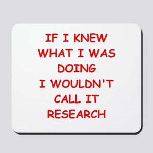 research Mousepad