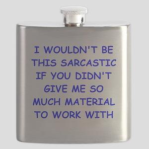 sarcastic Flask