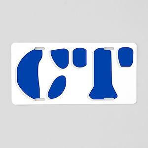 CT Aluminum License Plate