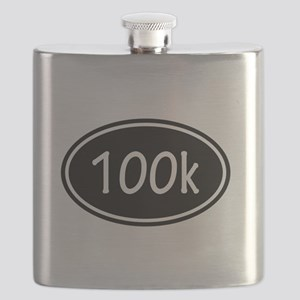 Black 100k Oval Flask
