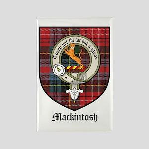 Mackintosh Clan Crest Tartan Rectangle Magnet (10