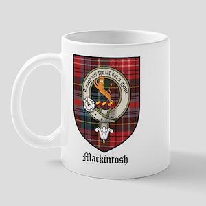 Mackintosh Clan Crest Tartan Mug