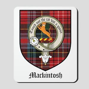 Mackintosh Clan Crest Tartan Mousepad