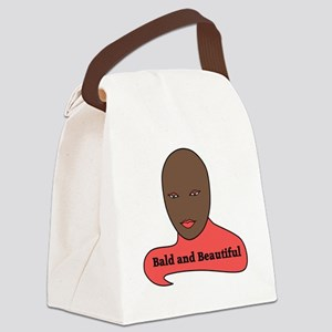 Bald and Beautiful v1.1 Canvas Lunch Bag