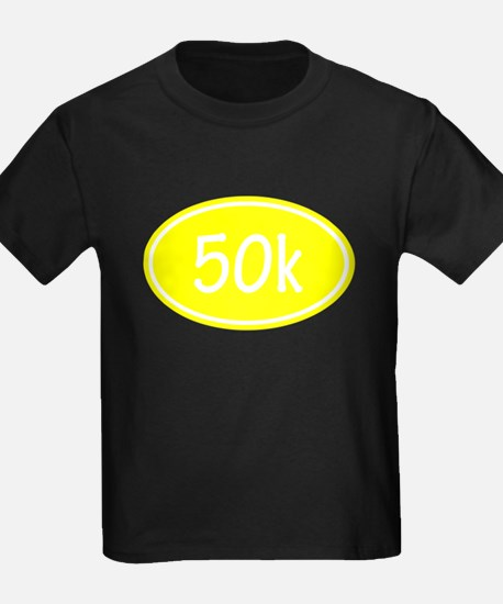 Yellow 50k Oval T-Shirt