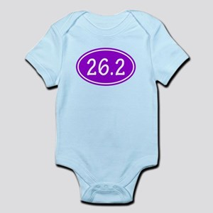 Purple 26.2 Oval Body Suit