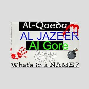 Al-Qaeda, Al Jazeera, Al Gore Magnets